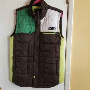 Hurley quilted vest